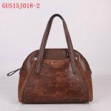 Gussaci 2015 Handbag 새로운 PU 가죽 형식 대조 색깔 숙녀