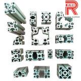 Aluinium/profil de anodisation de profil couleur en aluminium d'extrusion pour la construction