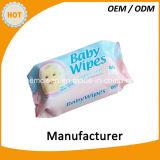 80 Wipes младенца PCS Unscented органических
