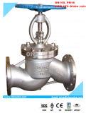 Bdk (J41H-8インチ)のためのDIN CF8m Flange Intergal Globe Valve