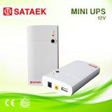 UPS супер длиннего резервного времени батарей лития 7800mAh портативный миниый для маршрутизатора