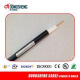 Câble coaxial de liaison de l'ohm RG6/Rg59/Rg11 de la qualité 75