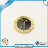 Logo personnalisé badge de médaille ronde de haute qualité pour souvenir