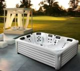 2016 neues Arrival 3 Meter 6 Person Rectangular Large Outdoor Jacuzzi mit 3 Lounger