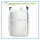 A emenda lateral dá laços no saco maioria de FIBC com o bico de enchimento para a embalagem industrial do pó
