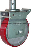 Brake를 가진 유럽 Type Adjustable Scaffolding Caster