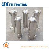 Multi carcaça de filtro do saco para o tratamento da água