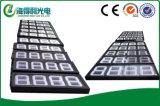 백색 색깔 LED 연료비 표시, LED 유가 전시