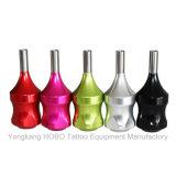 Le tatouage chaud de vente usine les approvisionnements en aluminium colorés d'adhérences de tatouage de cartouche