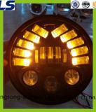 Ronda 7 pulgadas LED de la lámpara del faro para Jeep Wrangler Tj Jk Y j