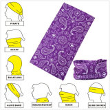 Custom Design Microfiber Seamless Multifuncional Magic Neck Tube Headwear Scarf