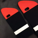 Kreativer Form Lippenstift-weicher Silikon-Telefon-Kasten für iPhone