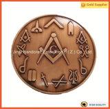 Progettare la placcatura per il cliente antica massonica muoiono la moneta impressionante (JINJU16-038)