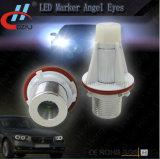 Ojos del ángel de la etiqueta de plástico de E39 5W LED con el CREE LED