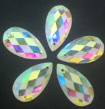 JewelryのためのAb Color Flat Back Glass Beads