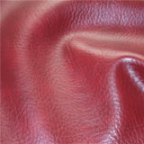 Top Quality Crackle Pattern Waxy Synthetic PVC Leather for Furniture