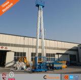 Elevación doble hidráulica del hombre del mástil uno de la aleación de aluminio de la venta de la fábrica de China del Ce