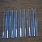 Feuille en plastique ondulée de polycarbonate