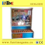 Máquina de jogo de jogo a fichas do entalhe da arcada dos adultos