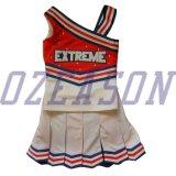 성인과 Kids Fancy Dress Cheerleader Girls Costomized Dress