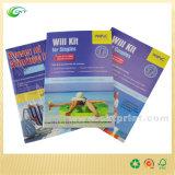 Impression bon marché de magasin de brochure de catalogue de livre de la Chine Shenzhen avec le sachet en plastique (CKT-BK-009)