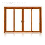 Portes en verre de bâti en aluminium résidentiel (FT-D126)