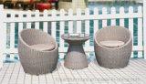 Im Freienpatio Sectoinal Sofa stellte 2016 auf Verkauf PET Harz-Rattan-Weidenhotel-Garten-Plattform-Möbeln ein