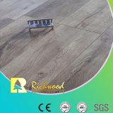 V suelo laminado laminado de madera del roble de la capa de la cera del surco