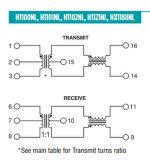 Интегрированный трансформатор IC H1102nl телекоммуникаций - цепь