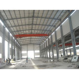Magazzino prefabbricato della costruzione dell'acciaio prefabbricato provvisorio