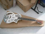 Поставщик сертификата BV/SGS---Гитара резонатора тела размера салона Китая Aiersi латунная с Cutway