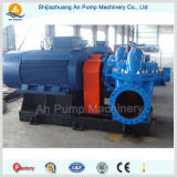 Pompe à eau élevée économiseuse d'énergie de débit de turbine jumelle centrifuge horizontale