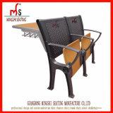 Escritorio de aluminio del estudiante y muebles de escuela determinados de la silla con los apoyabrazos