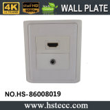 熱いSelling 86 Style HDMI 3.5mm Audio Module Welding Wall Plate