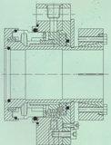 Guarnizione meccanica con la struttura di equilibrio (Hz3)