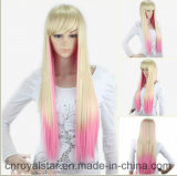 Парик прямых волос тона способа 2 длинний