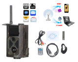 plein HD GM/M MMS GPRS appareil-photo large de jeu de vue de 12MP 1080P