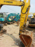 使用されたヒュンダイの車輪の掘削機60W-7の車輪の坑夫