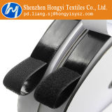 Blanco auto-adhesivo del Velcro de la cinta posterior pegajosa