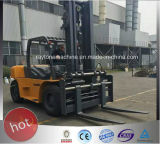 10ton 디젤 엔진 지게차 근수 장비 ISO/Ce/GOST에 의하여 증명되는 LG100dt