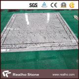 Les Chinois possèdent le revêtement de mur de carrière/brame/carrelage de marbre gris blancs