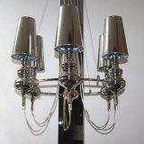 Pkの陰が付いている中国の製造者のクロム鉄のペンダント灯