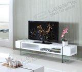 Стойка MDF TV, с ногой Tempered стекла (T1010)