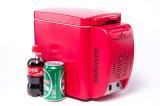 Mini réfrigérateur électronique portatif 6liter DC12V avec le refroidissement et le chauffage pour le véhicule, utilisation d'activité en plein air