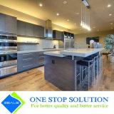 Gabinetes de cozinha azuis populares da mobília modular da cor (ZY 1033)
