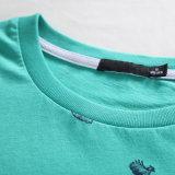 T-shirt rond de coton de collet de modèle de mode avec l'impression