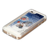 Christmas en gros Gifts Custom Snowing Phone Cas pour l'iPhone 6s Plus