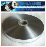 ポリエステルによって薄板にされるアルミニウムAluプラスチックAluテープテーププラスチックフィルムテープを保護するケーブルのAluホイル