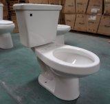 Toilette en deux pièces ovale des prix bon marché