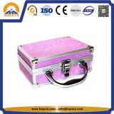 ビロードのライニング(HB-2035)が付いているかわいい美の化粧品の収納箱
